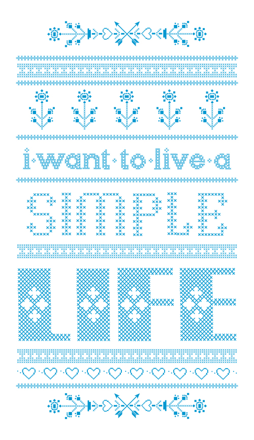 Simple Life Poster