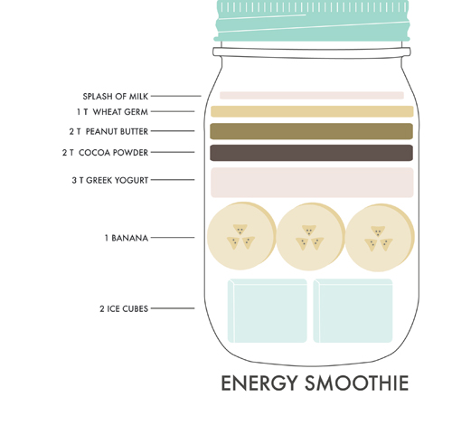 ENERGY SMOOTHIE RECIPE | WE MADE IT HOME