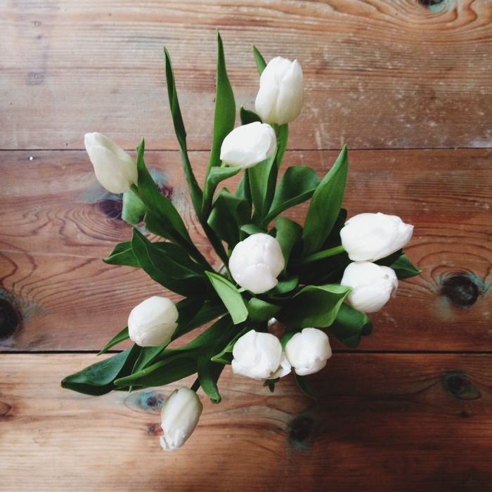 Valentine's Flowers | We Made it Home