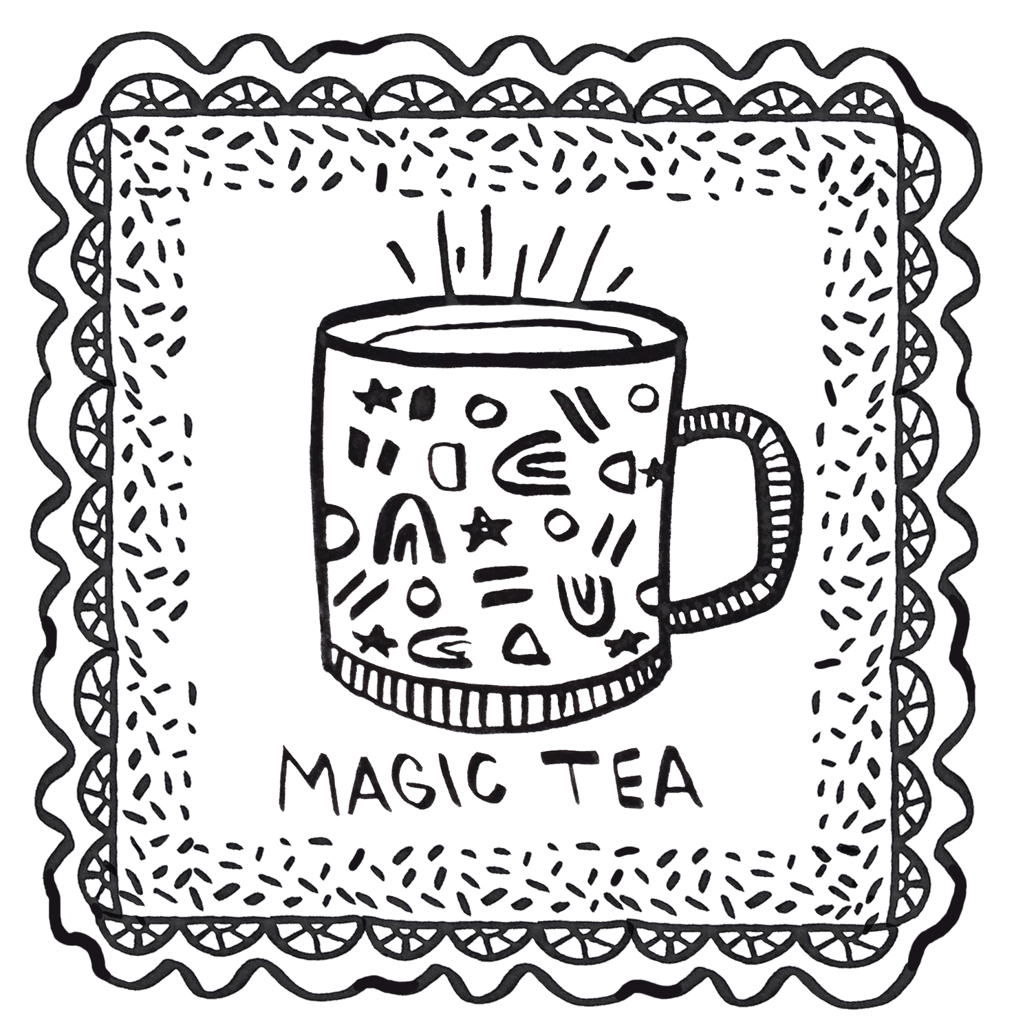 MAGIC TEA | wemadeithome.com 2 Tablespoon lemon juice, 1 teaspoon grated ginger, half a teaspoon tumeric, 1 tablespoon honey. Mix together in your favorite mug, add boiling water, stir and enjoy.