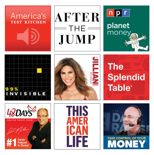 My Favorite Podcasts | wemadeithome.com